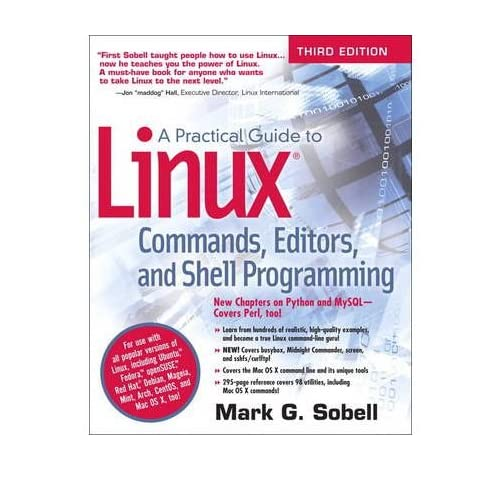 [ A PRACTICAL GUIDE TO LINUX COMMANDS, EDITORS, AND SHELL PROGRAMMING BY SOBELL, MARK G.](AUTHOR)PAPERBACK