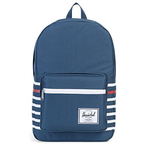Herschel Pop Quiz Backpack Rucksack 45 cm Laptopfach navy offset stripe