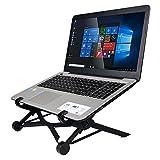 Laptop Ständer Klappbar Kompakt Höhenverstellbar Notebook Halter für MacBook