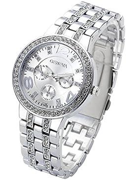 JSDDE Uhren,Strassstein Design u