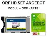 Strong Irdeto CI+ CI Plus Modul HDTV SET inklusive neuester ORF HD Karte und HD Austria Pay TV Paket automatisch für 1 Monate freigeschalten