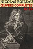 Nicolas Boileau - Oeuvres Complètes: lci-56 (lci-eBooks)