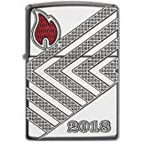 Zippo 17191 Annual Lighter 2018 Allemagne – Limited Edition 750 Pieces – Armor Case Chrome High Polished – Special...
