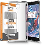 OnePlus 3 / OnePlus 3T Case, 1x FlexiCase for OnePlus 3 (Original 2016 Model & OnePlus 3T Version) - 100% Clear Protective Flexible Silicon Gel Phone Case by Orzly - 100% TRANSPARENT