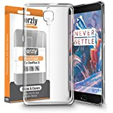 Orzly® - FlexiCase for OnePlus 3 (2016 Model / Dual SIM Version) - 100% Clear Protective Flexible Silicon Gel Phone Case - 100% TRANSPARENT