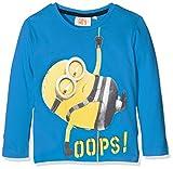 Universal Jungen T-Shirt Minions Banana, Blau (Blue 18-4247TC), 2-3 Jahre