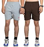 Vego Men's Casual Cotton Shorts Pack Of ...
