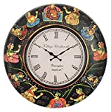 Purpledip Wall Clock 'Royal Heritage': H...