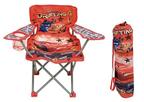 Disney Cars Kinder Campingstuhl klappbarer Sessel mit Getränkehalter