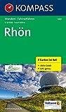 Rhön: Wanderkarten-Set mit Aktiv Guide. GPS-genau. 1:50000 (KOMPASS-Wanderkarten, Band 460)