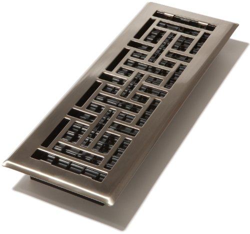 Decor Reiben 4-Zoll von 35,6cm Oriental Boden Register, AJH414-NKL