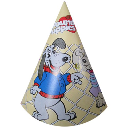 pound-puppies-vintage-1986-cone-hats-8ct