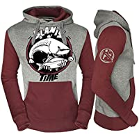 Hot Spot Design Sweat Fishing Time GLANIS–Taille XXL
