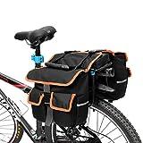 ~ 25L Bike Travel Gepäckträger Gebirgsfahrrad-Hintere Zahnstangen-Sitzbeutel-Werkzeug