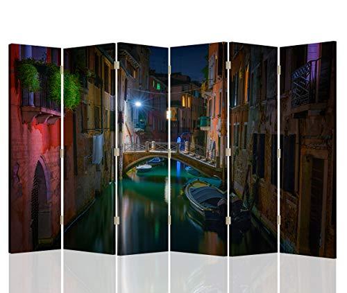 Feeby Pared Española Venecia 6 Paneles Bilateral Arquitectura Paisaje