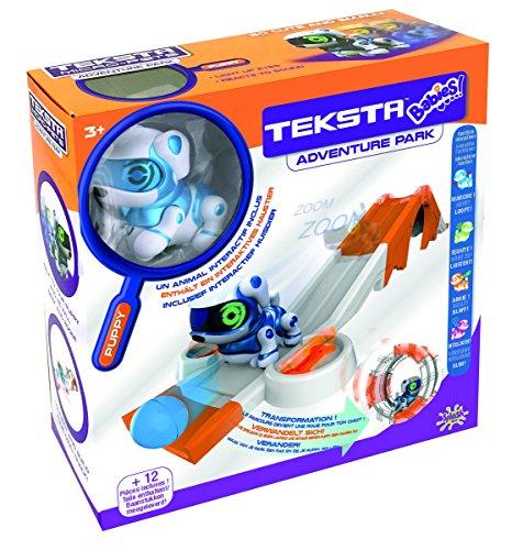 Splash Toys - 30650P - Playset Teksta Babies Robot Chien interactif motorisés et sonores avec parcours