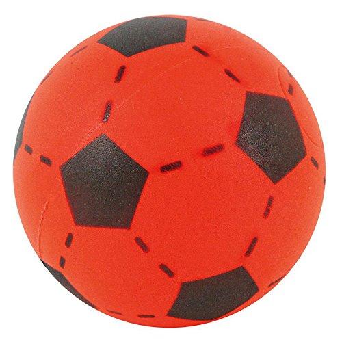 Softball rot 20cm Fußball Spielball Ball Softfussball Schaumstoffball Hallenfußball (36 Schaumstoff-bälle)