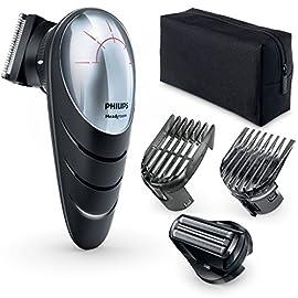 Philips QC5580/32 Tagliacapelli Effetto Scalpo, Testina Rotante 180°, Pettine di Precisione e Testina per Effetto Scalpo…