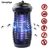 Zenoplige Electric Bug Light Zapper - Mosquito & Fly Killer - Indoor / Outdoor Flying Insect Control - 100% Satisfaction Guarantee
