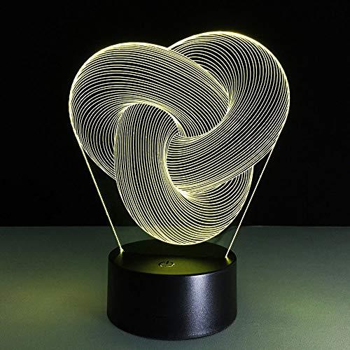 Abstraktes Bild 3d Tischlampe Baby Nachtlicht Novel Nachttischlampe Mini Nightlights Batteriebetriebene Lampen Veilleuse Enfant Lampy