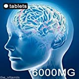 """The Vitamin GINKGO BILOBA 6000mg 120 """"High Strength"""" Tablets FREE P&P from The Vitamin"""