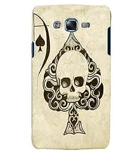 Citydreamz Ace Of Spades/Cards/Ghost Hard Polycarbonate Designer Back Case Cover For Samsung Galaxy J7 2016 /J76/J710