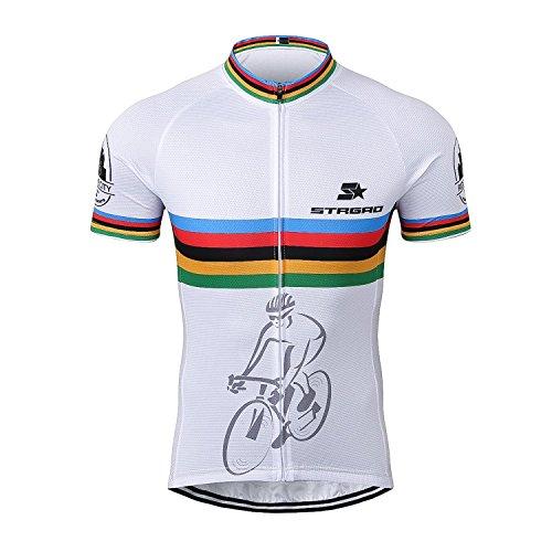 Cycle Liner Shorts (2017 New Sommer Herren M?nner Kurze Hülse Zyklus Jersey Kurzarm Fahrradtrikot Fahrrad Hemd Fahrrad Radfahren Trikot Cycling Jersey Bike Shirt Gr??e 2XL)