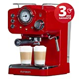 Oursson Machine à expresso pour poudre & Pads, 3 Ans Garantie, Expresso, Cappuccino,...
