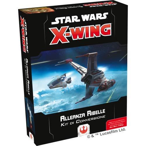 Asmodee Italia- Star Wars X-Wing Kit di Conversione Alleanza Ribelle, Colore, 9927