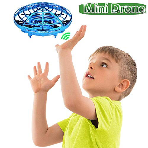 Jresboen Mini Drone para Niños, [Innovador] Mini UFO Drone Ball Juguete, Bola Voladora, Flying Ball Helicopter Helicóptero Avion Juguete Bebé con Sensor Infrarrojo & Evitación Automática de Obstáculos