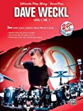 Weckl Dave Ultimate Play-Along Level 1 - Vol.1 Cd