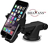 #9: Bhavans Long Neck One Touch Car Mobile Holder Stand For Car Windshield / Dashboard / Table / Desk For Iphone / Samsung / Soni / Xiaomi / Lenovo / Motorola /Oppo / Vivo / GPS