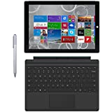 Microsoft Surface Pro 3 Tablet (12-Inch, 128 GB, Intel Core I5, Windows 10) + Microsoft Surface Type Cover