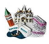 zamonji 3D Resina Coleccionable de Refrigerador Imán. El Edificio Landmark del Mundo - Italia (Basílica de San Marcos, Venecia)