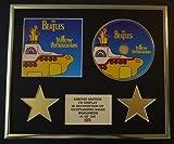 THE BEATLES/CD-Darstellung/ Limitierte Edition/COA/YELLOW SUBMARINE