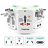 #8: Generic World Wide Travel Charger Adapter Plug, White