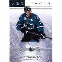 2014 /15 Upper Deck Artifacts Hockey Card # 16 Joe Thornton - Sharks