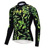 logas New Camouflage Radtrikot Männer Langarm Jersey radfahrend Rad Shirt Atmungsaktiv Schnell Trocknend Tarn Shirt