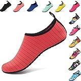AGOLOD Water Shoes,Scarpe da Immersione per Uomo Donna Scarpe da Acqua Leggere Ciabatte da Spiaggia Traspiranti Scarpette da Bagno Scarpe Surf Yoga, Calzini da Snorkeling da Scoglio