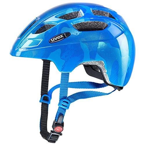 Uvex Unisex Jugend Finale junior Fahrradhelm, Blue, 51-55 cm