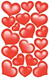Avery Zweckform 53205 Deko Sticker Herzen 38 Aufkleber