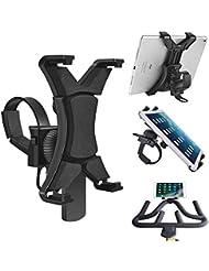 """Support pour iPad pour vélo Rotatif, Support Universel pour Tapis de Course pour équipement de Gym d'intérieur et vélo d'exercice pivotant à 360° pour tablettes et iPad 7–12"""""""