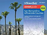 Thomas Guide: San Bernardino & Riverside Counties Street Guide by Rand McNally (2013) Spiral-bound