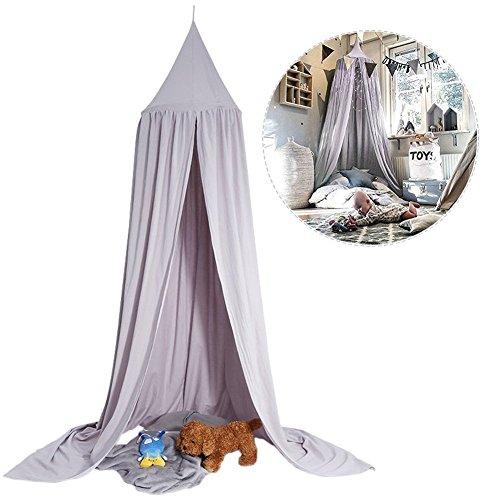 Moskitonetz Baldachin Dome Prinzessin Bett Baumwolle Tuch Zelte Erwachsene Kinder Raum Dekorieren für Baby Kids Lesen Play Indoor-Spiele von Eternal clover