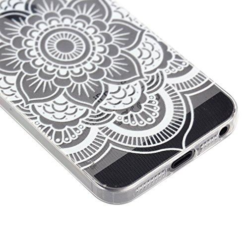 MOONCASE pour iPhone 5G / 5S Case Housse Silicone Gel TPU Case Coque Étui Cover X02 X14 #1207