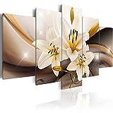 Cuadro en Lienzo 100x50 cm - Tres colores a elegir - 5 partes - Impresion en calidad fotografica - Cuadro en...