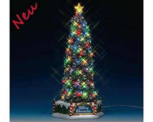 Lemax 84350 - New Majestic Christmas Tree - Neu 2018 - Majestätischer Weihnachtsbaum - Animiert & Beleuchtet & mit Sound - Weihnachtswelt/Weihnachtsdorf -