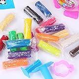 Chickwin Juguetes del rompecabezas de la mano de los niños del nuevo producto 18 Color Mud; Plastilina; Bricolaje cambio de color de cien colores.