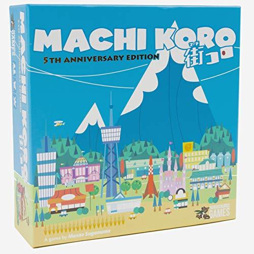Pandasaurus Games PAN201821 Machi Koro 5th Anniversary Edition, Colores Variados