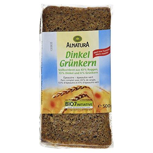 Alnatura Bio Dinkel Grünkern Brot, 500 g